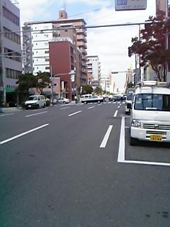 実況 実況近所の道路で交通事故(佐川トラックと白バイ)