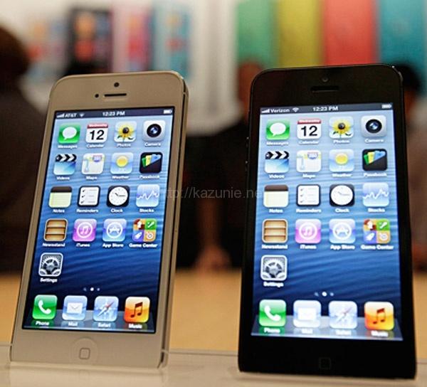 iPhone5?au版はテザリング可能に。「Apple、iPhone5」
