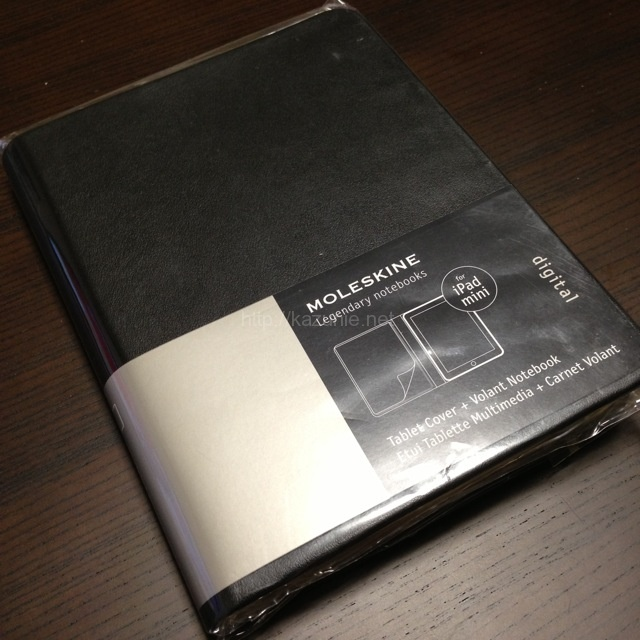 モレスキンからiPad mini デジタルカバーが発売されたので購入してみた。