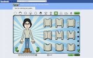 FacebookのBitstrips_1