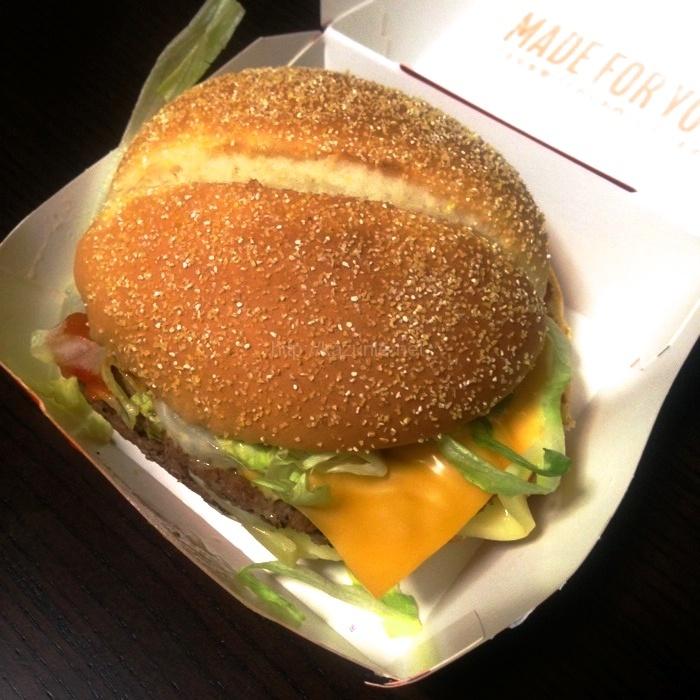 マクドナルド期間限定バーガー「ホット&グルービー ビーフ」#マックの70年代風バーガー