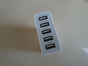ANKER5ポート急速充電器