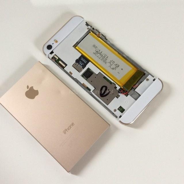 iPhone5sそっくりiOSもどきAndroidでもない中国製のスマートフォンチェック