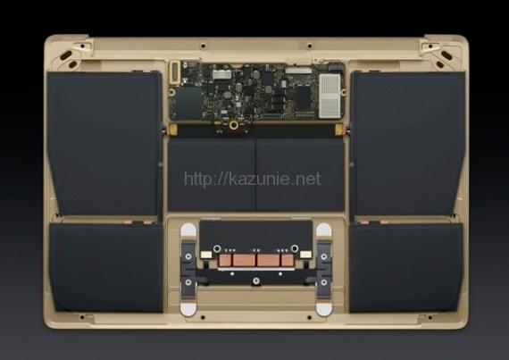 新しいMacbookAir12