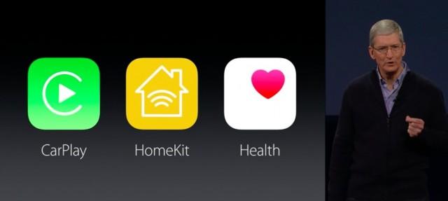 apple carpal homekit helth