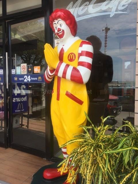世界各地に行った際には、マクドナルドを切り口に食文化を楽しむ